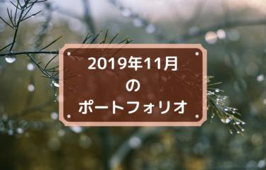 2019年11月末時点の私のポートフォリオを公開